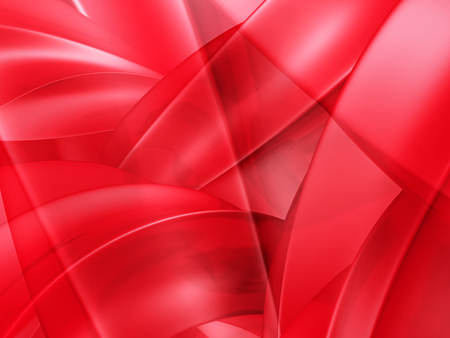 2d wallpaper: Abstract Shiny Red Waves Pattern Background. 3d Render Illustration