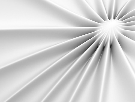 illuminated: Abstract Glossy White Soft Background. 3d Render Illustration