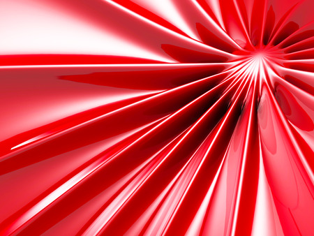 fuschia: Abstract Glossy Red Soft Background. 3d Render Illustration Stock Photo