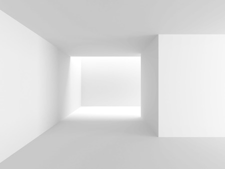 passage: Abstract Architecture Modern Empty Room Interior Background. 3d Render Illustration