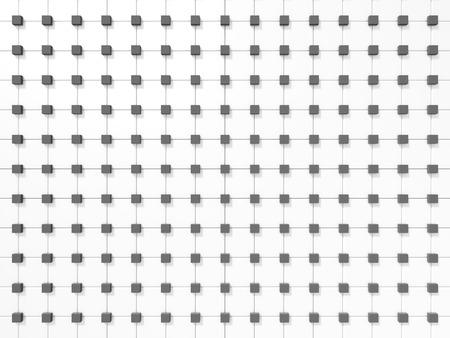 white tile: White Tile Pattern Wall Background. 3d Render llustration