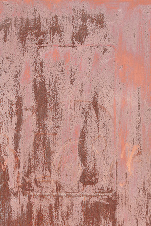ironworks: Old rusty metallic textured wall background. Industrial wallpaper