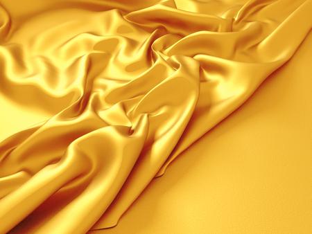 tender passion: Beautiful silk drape texture background. 3d render illustration