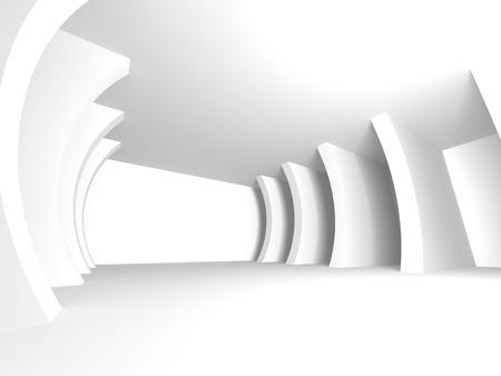 抽象的な建築のモダンなデザインの背景。3 d レンダリング図