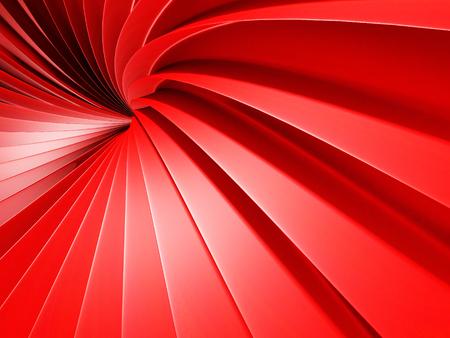 engulf: Abstract Spiral Stripe Pattern Tunnel Background. 3d Render Illustration