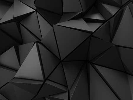 Chrome Metallic Glossy Futuristic Background. 3d render