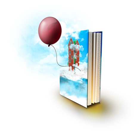 Magic book with real stories  photo