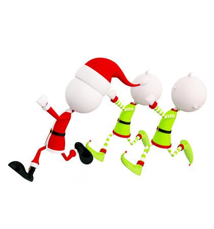elves: 3d Elves for running pose