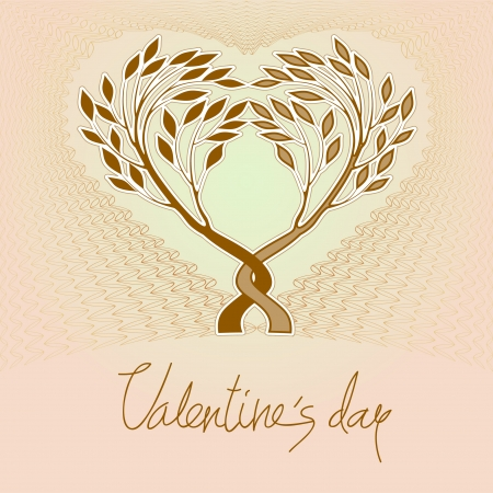 image size: Valentines day card    This image is a scalable vector illustration of elements and can be scaled to any size without loss of quality