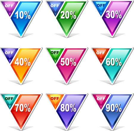 image size: Vector price Tags    This image is a scalable vector illustration of elements and can be scaled to any size without loss of quality