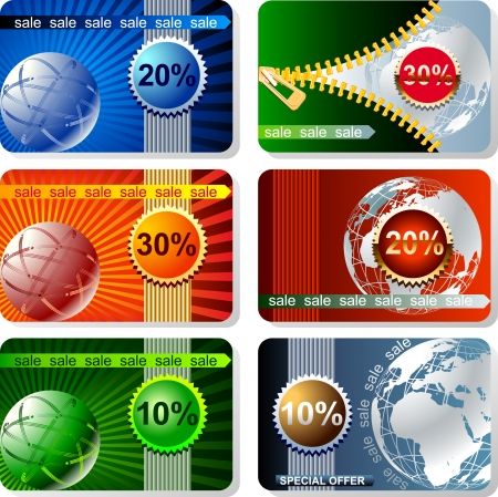 Vector web banners set    This image is a scalable vector illustration of elements and can be scaled to any size without loss of quality Stock Vector - 24542732