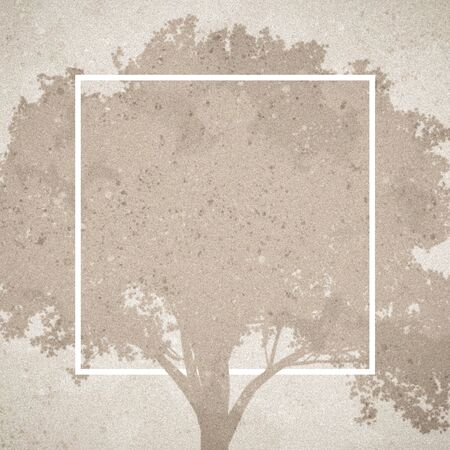 Grungy template graphic showing a tree in the background.