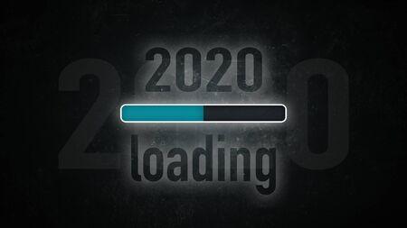 Loading bar: 2020 loading