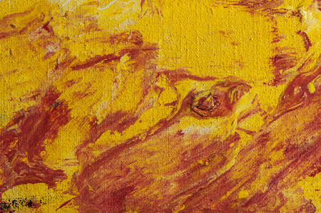 oil paints: Painting abstract with oil paints