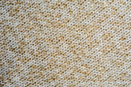 tejido de lana: Beige tela de lana tejida textura, fondo abstracto