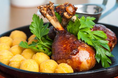 Gourmet food - restaurant menu