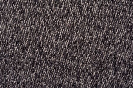 Close-up image of a gray knitwear Stock Photo