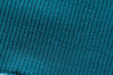 Beautiful green knitted fabric for sewing