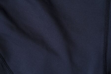 Close-up fragment of black nylon garment 写真素材