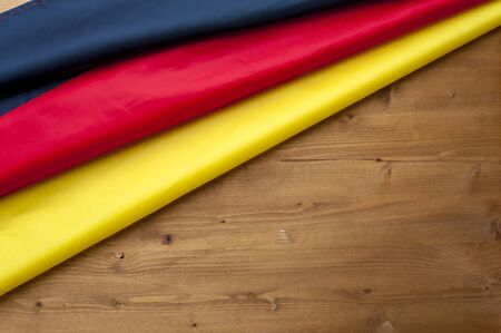 Top view of the flag of Germany 写真素材