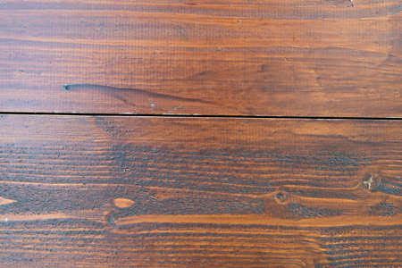Close-up old brown wooden boards planks. Background image