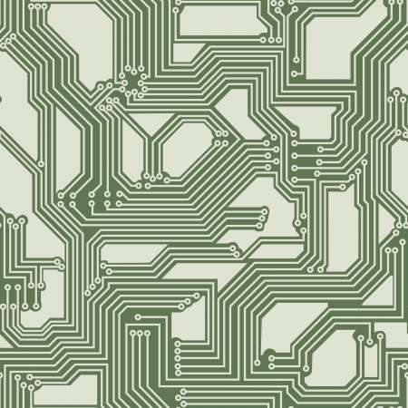 soldering: seamless background of electrical circuit of computer board device  motherboards   Illustration