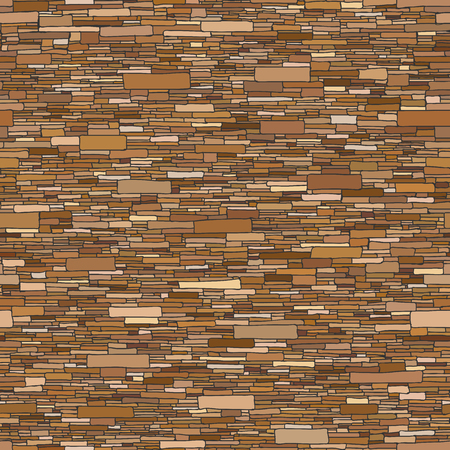 building bricks: Seamless colored vector background of rectangular stones wall ancient building with long narrow bricks. Illustration