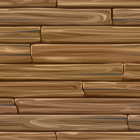 wood planks: Seamless colored vector background of rectangular wood planks.