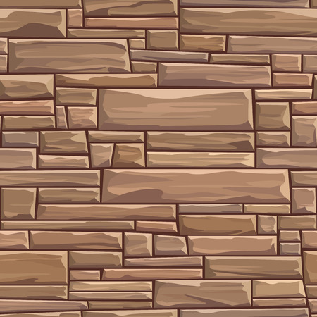building bricks: Seamless colored  background of rectangular stones wall ancient building with different sized bricks.