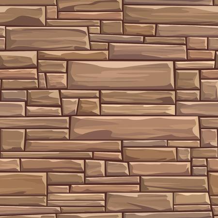 Sfondo trasparente colorato di pietre rettangolari muro antico edificio con i mattoni di dimensioni diverse. Archivio Fotografico - 49506268