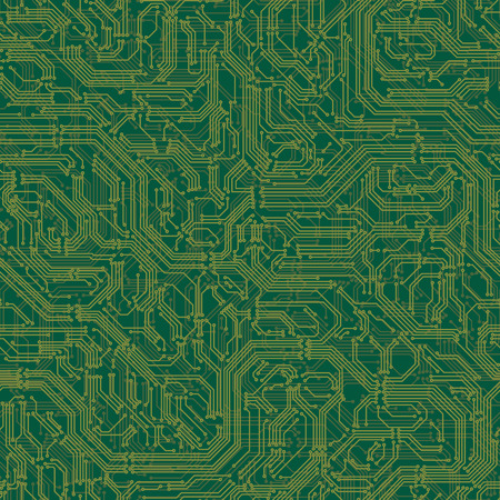 electronics: Seamless background of electrical circuit of computer board device (motherboards).