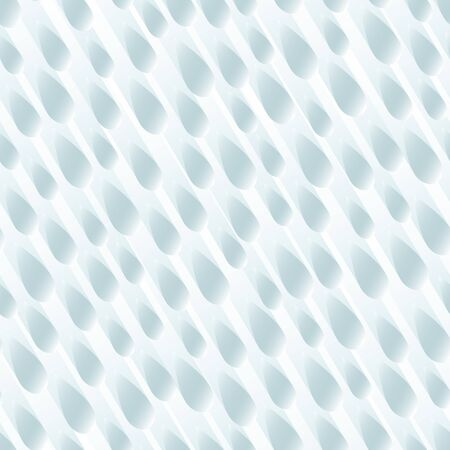 Seamless blue shower background of many raindrops with stripes of light behind.  イラスト・ベクター素材
