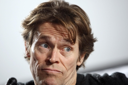 THESSALONIKI,GREECE - NOV 22,2008: Actor Willem Dafoe during press conference of 49th Thessaloniki International Film Festival  Editorial