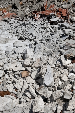 Material from demolished house Stock Photo - 16184094