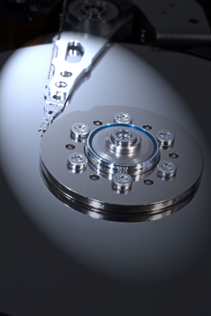 Computer hard disk with clipping path Stock Photo - 16268371