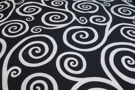 fabric background in white and black Stock Photo - 16827736