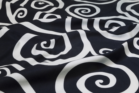 fabric background in white and black photo