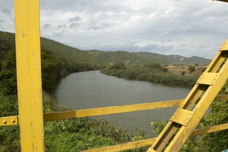 hydrobiology: River Strymonas at North Greece