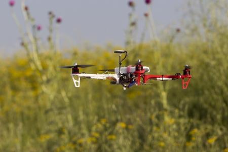 Voler drone drone quadcopter