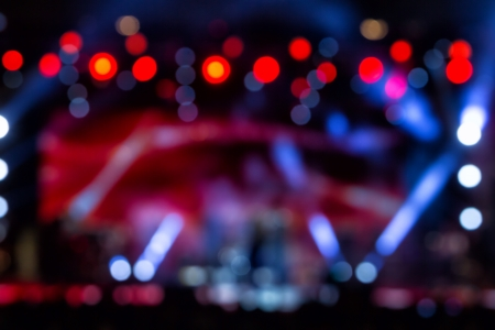 Defocused entertainment concert lighting on stage, bokeh Stock Photo - 22405923