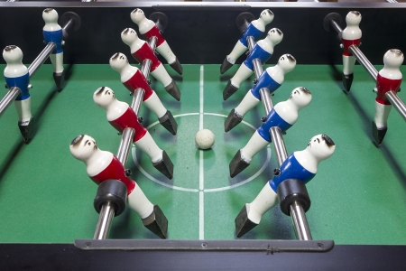 Table football game photo