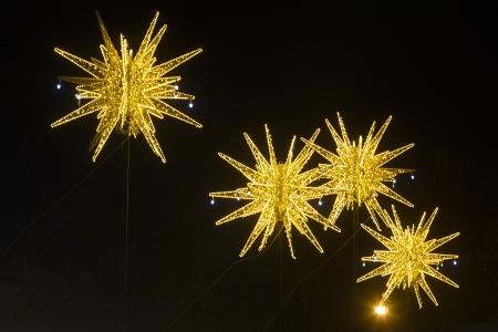 Christmas decoration light stars