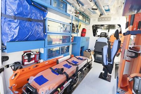 neuen Krankenwagen