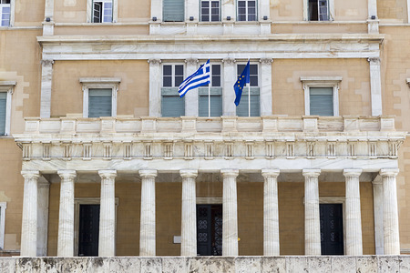 hellenic: Athens - Hellenic Parliament of Greece Located in the Parliament House, overlooking Syntagma Square - Greece