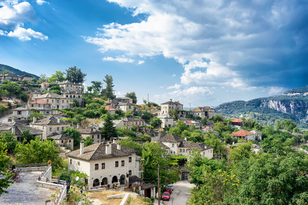 The picturesque village of Vitsa in Zagori area, northern Greece