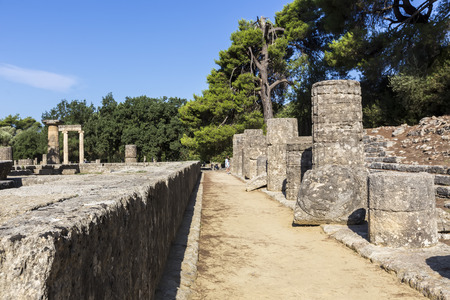 the olympic games: Olympia, birthplace of the Olympic games, in Greece. Editorial