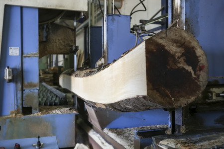 assemblies: Thessaloniki, Greece, July 8, 2015: Wood and furniture production plant, industrial factory with tools and objects in Greece