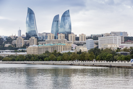 Flame Towers. Flame Towers is a symbol of the new Baku
