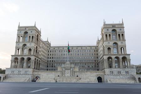baku: The Government house of Azerbaijan in Baku, Azerbaijan.