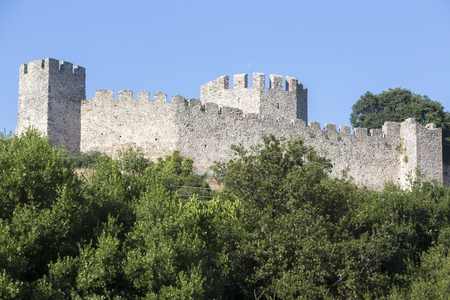 chivalry: Beautiful old fortress against the blue sky